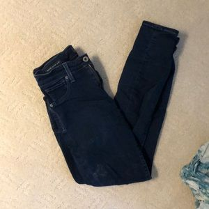 lucky brand SUPERSOft dark wash jeggings